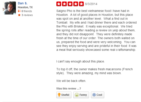 We tried the spring rolls after reading a review on yelp