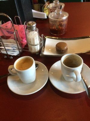 Best espresso and macarons in tomball!  Wow!  Killer REAL French Espresso!!!