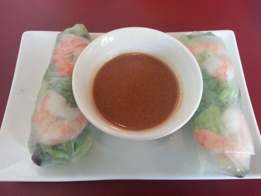Shrimp Spring Rolls.